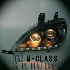 AUTO LAMP LED PROJECTOR HEADLIGHTS  MERCEDES-BENZ M-CLASS 2002-05 MNR